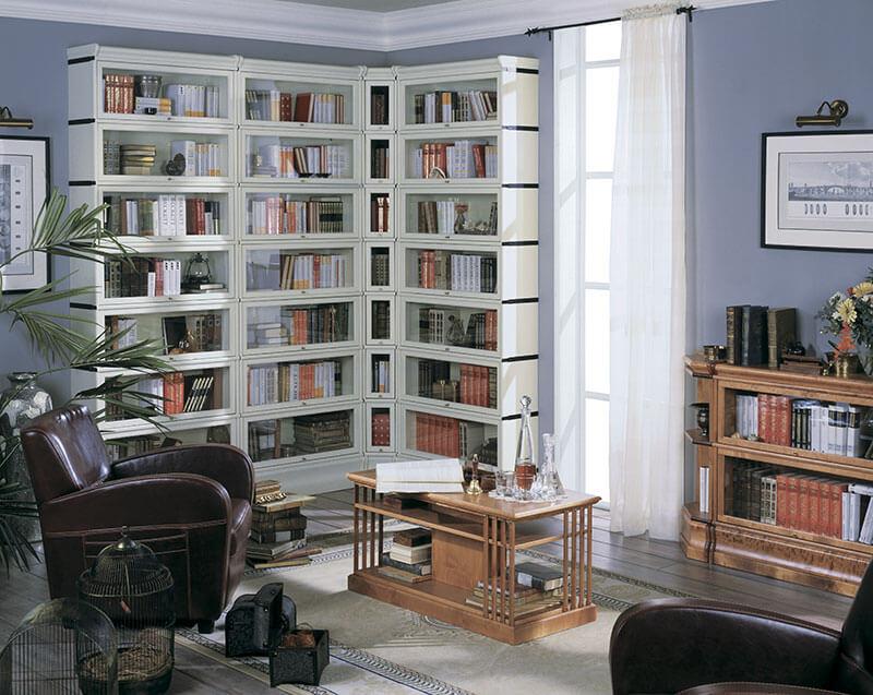 Угловая библиотека от производителя bjorkkvist - bjorkkvist.